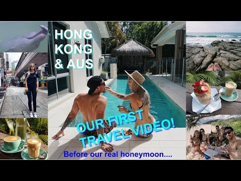 Quick stop in Hong Kong & Australia! FIRST TRAVEL VIDEO!
