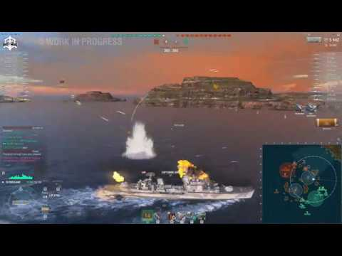 World Of Warships - Friesland New PAN-EU DD