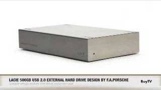BuyTV Product Feature -  Lacie 500 GB Hard Drive