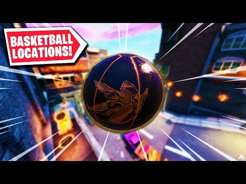 All BASKETBALL LOCATIONS In Downtown Drop On Fortnite...