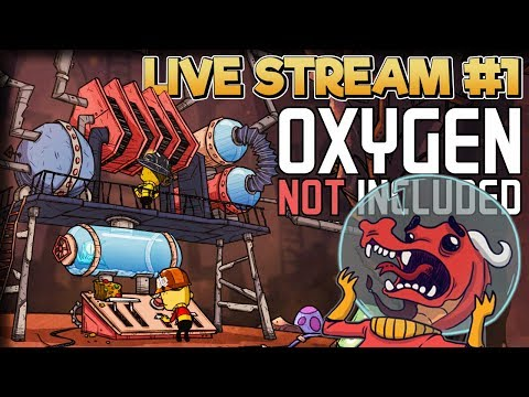 Dirty Water Nightmares – Oxygen Not Included Gameplay – Live Stream Part 1