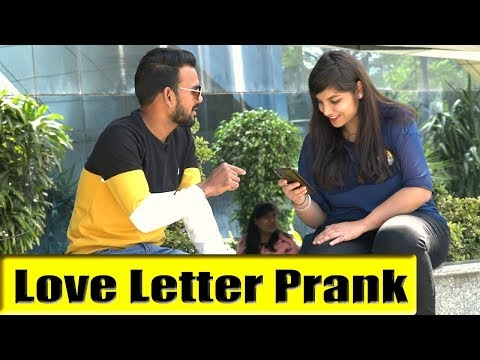 Love Letter Prank   Bhasad News   Pranks in India