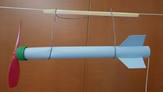 Physics of toys -string racer/ string rocket //  Homemade Science with Bruce Yeany
