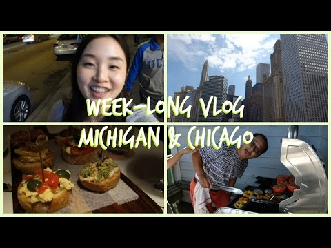 Ann Arbor & Chicago 2016 | Travel Vlog