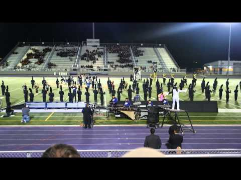 Weslaco East High School Marching Band at Pigskin Competition 2013