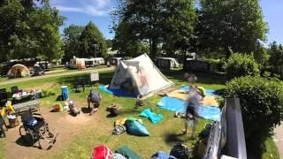 Vakantie kirchzarten 2015, afbreken van kamp