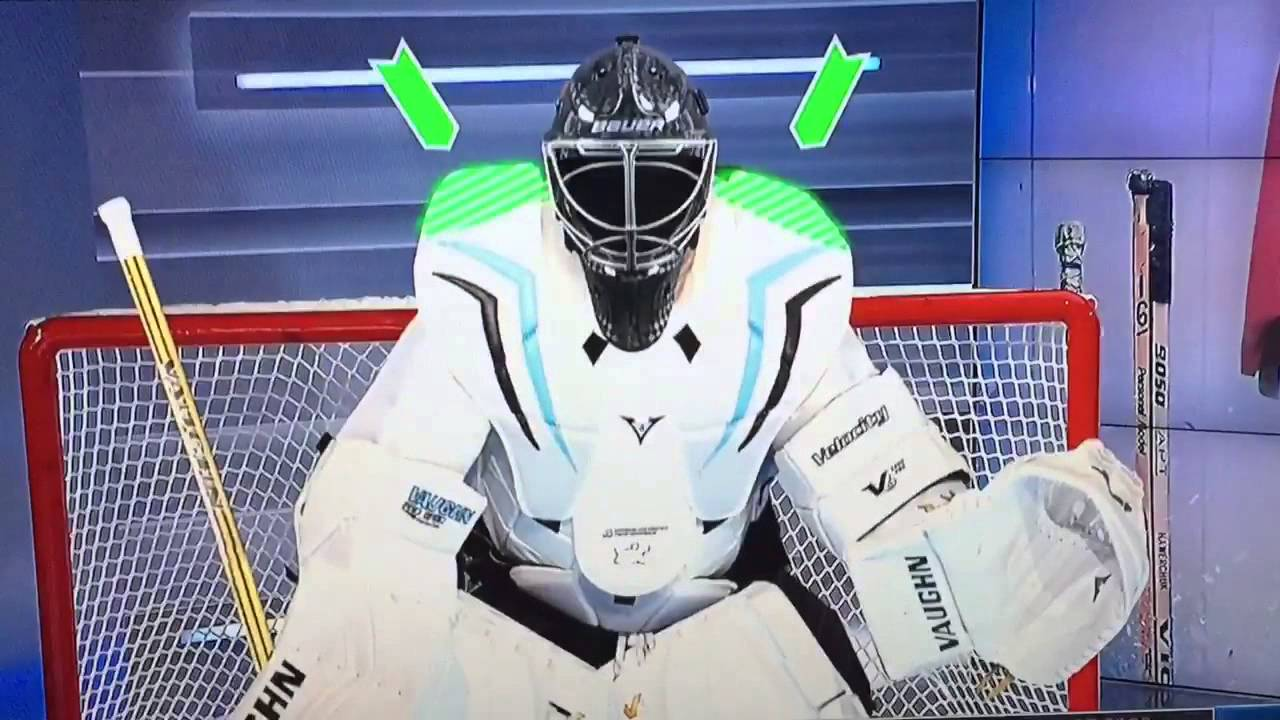 09d9bf0528e Model of how the NHL wants goalie equipment to be decreased in size ...