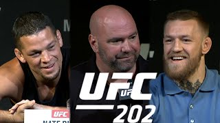Watch the full UFC 202 Pre-Fight Press Conference (Uncensored)