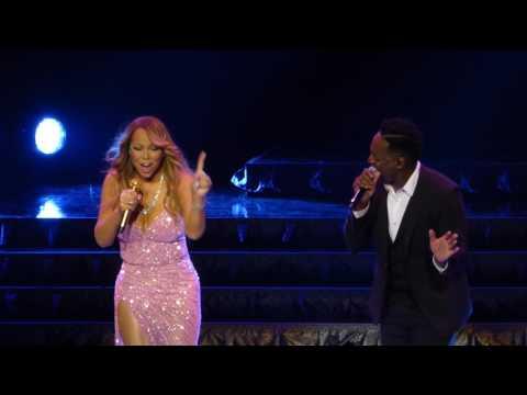 Mariah Carey & Trey Lorenz - ( Michael Jackson ) - I`ll Be There @ Live Oslo Spektrum - 31.03.2016
