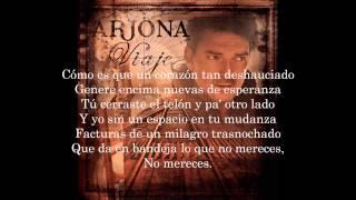 Ricardo Arjona - Invertebrado (letra)