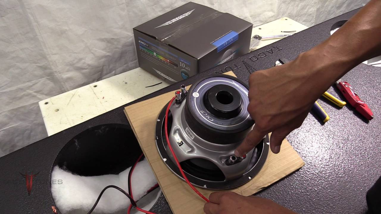 How To Wire Dual 2 Ohm Image Dyanmics Subwoofers In Your Toyota Wiring Tundra Crewmax Subwoofer Box