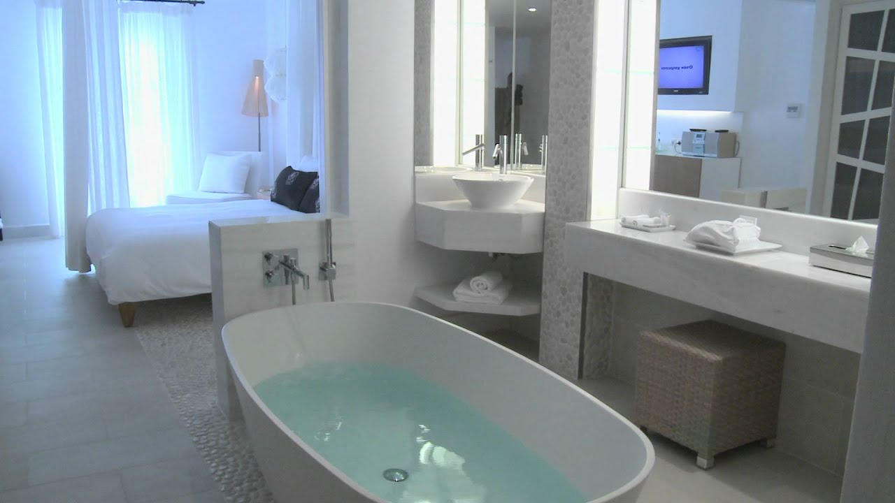 Mykonos Grand Hotel Resort A Luxury Beach Resort Youtube