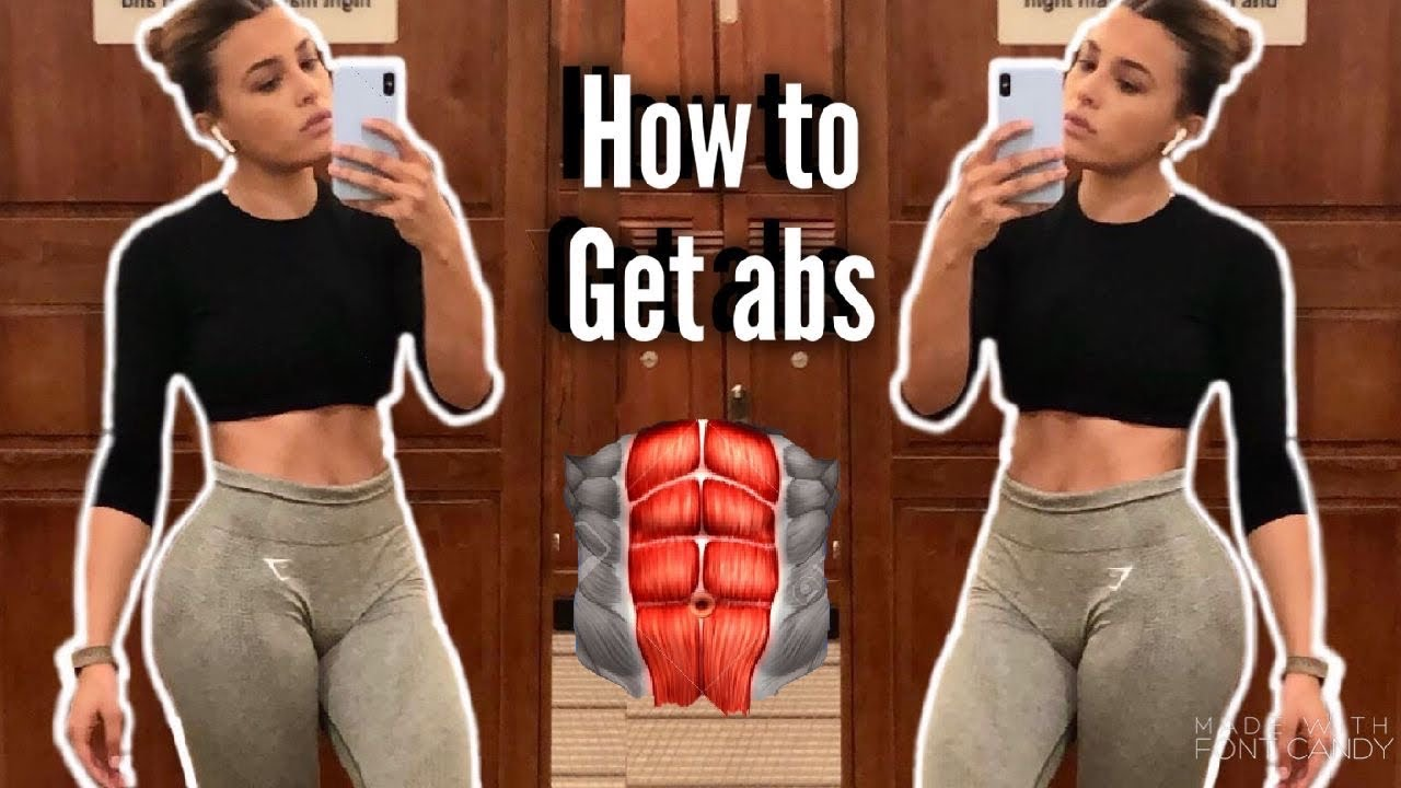 How to GET ABS while gaining muscle/weight