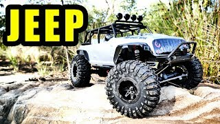 REMO HOBBY JK JEEP 1/10 Rock Crawler