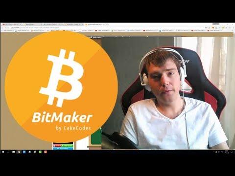 Заработок сатоши в мобильном приложении BitMaker. Заработок биткоин без вложений