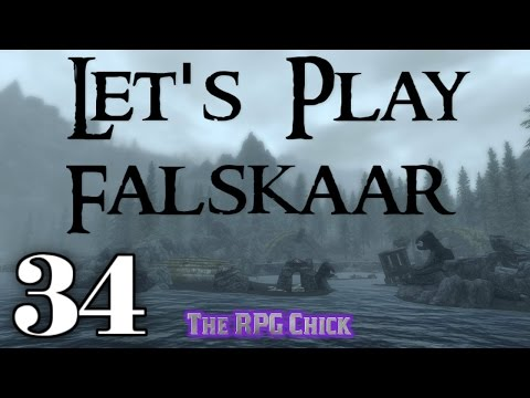Let's Play Falskaar (Skyrim Mega-Mod - Blind), Part 34: The Heart Chamber