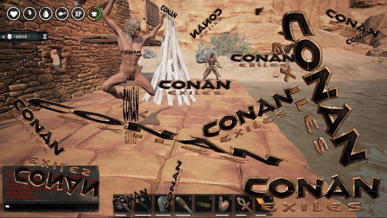 『Conan Exiles』DragonRed 討伐 シングルプレイ - YouTube