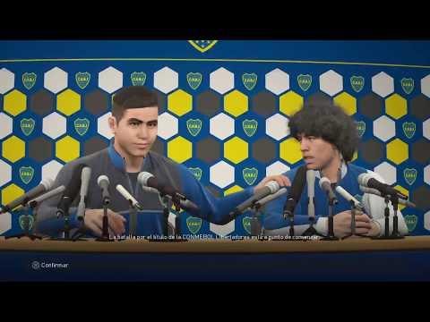 PES2018 Liga Master Boca finales de copa