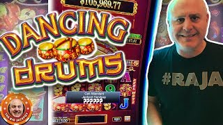 🥁DOUBLE DANCING DRUMS JACKPOTS! 🥁 High Limit BIG WIN$ 🎰