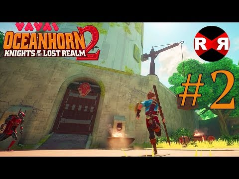 Oceanhorn 2: Knights Of The Lost Realm - Apple Arcade - 60fps TRUE HD Walkthrough Gameplay Part 2