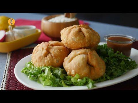 Chapli Kabab Kachori Recipe By Food Fusion
