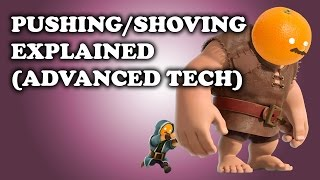 Clash Royale | How to Push/Shove Units - Advanced Tech