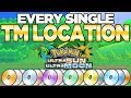 Every TM Location in Pokemon Ultra Sun and Moon | Austin John Plays