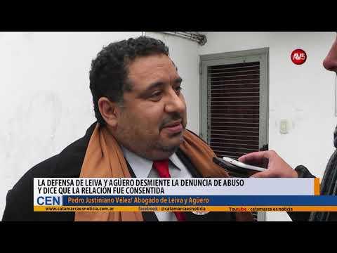 La defensa de Leiva y Agüero desmiente la denuncia de abuso y dice que la relación fue consentida