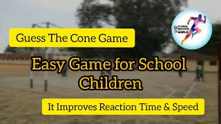 Guess the cone game | Recreational Games for Physical Education | Online PE Games | Fun activities