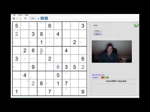 Sudoku Tricks:  The Swordfish Pattern