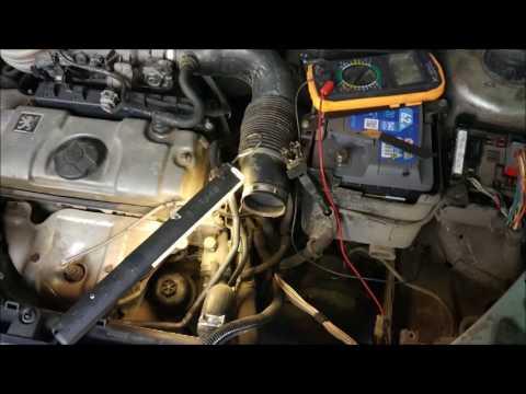 Проблема Запуска мотора Peugeot 206 1.4 Бензин