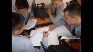 Панорамный урок военной школы.