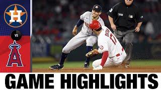 Astros vs. Angels Game Highlights (9/23/21)   MLB Highlights