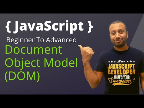 Javascript Bangla Tutorial 30 : How To Select Html Elements | DOM