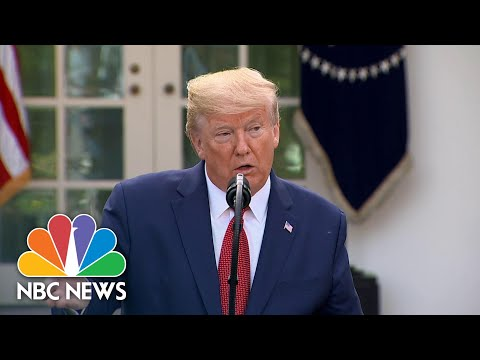 Trump: Coronavirus 'Peak