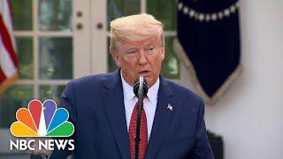 Trump: Coronavirus 'peak Death Rate' To Hit In Two Weeks | Nbc News