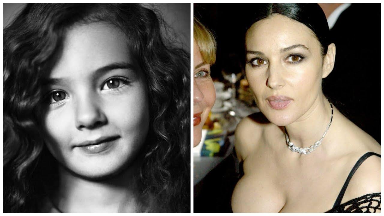 Моника Беллуччи - фото в детстве и сейчас - YouTube: https://www.youtube.com/watch?v=MSf1R5m1wqk