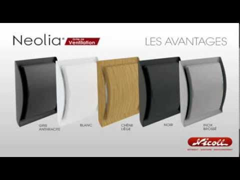 grilles ventilation neolia nicoll youtube. Black Bedroom Furniture Sets. Home Design Ideas