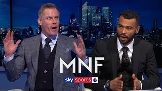 Ashley Cole shocks Jamie Carragher by not picking THIS player in his combined XI! | MNF