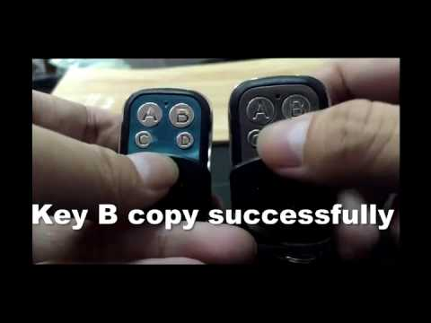 Universal Reset Or Clone The Code Of 4 Channel Rf Key