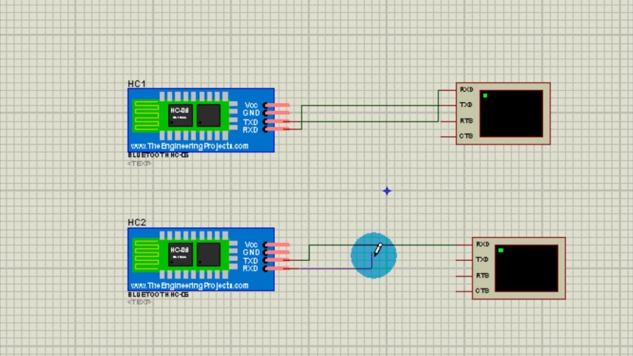 How to add bluetooth modul to proteus