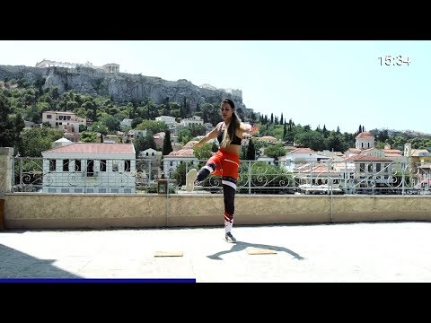 24 min Abs & Butt Workout from Athens, Greece