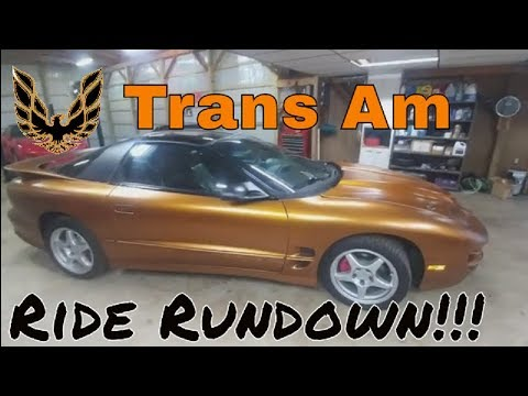 2000 Trans Am Ride Rundown Pontiac Review Plasti Dip LS1 LSX Plastidip