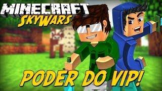 Minecraft: Poder do VIP (SkyWars)