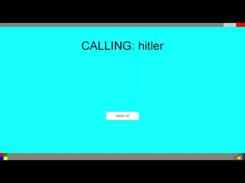 calling Hitler on skype with CMD ( Windows 11)