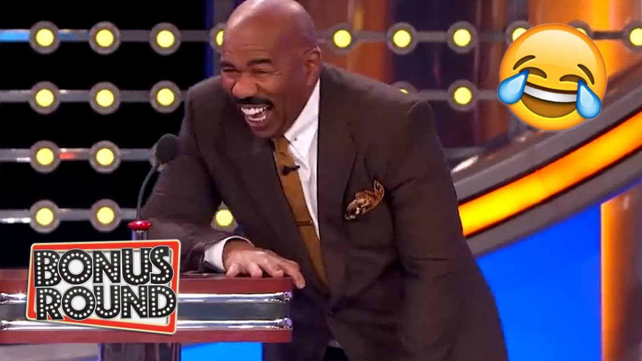 Winning WIFE Answers That Will Make Your Laugh With Steve Harvey On Family Feud USA