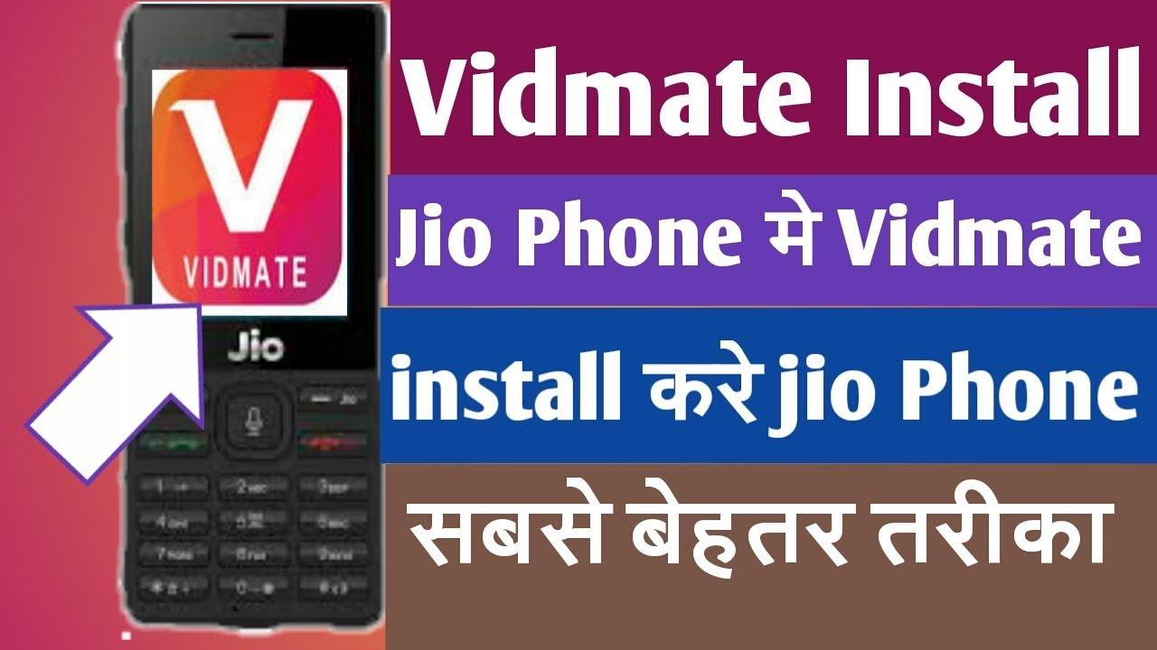 #Vidmate app Download in Jio Phone/Jio Phone Me install Vidmate apk