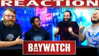 Baywatch Official Teaser Trailer REACTION!!