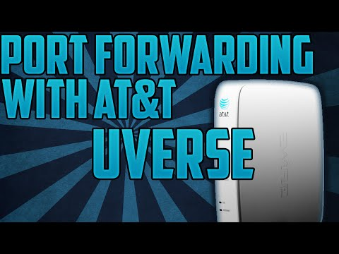 HOW TO PORT FORWARD WITH AT&T UVERSE/2WIRE ROUTER!