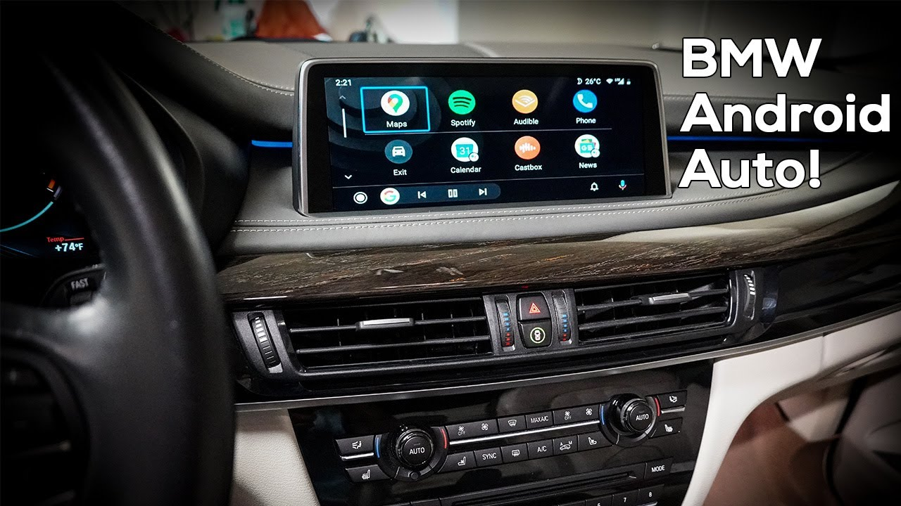 android carplay bmw